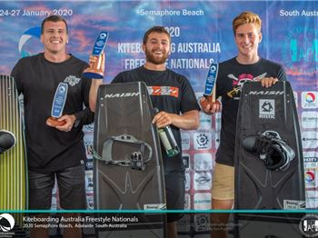Team Naish Storms the Podium at Australian Nationals - Kitesurfing News