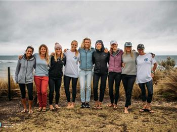 Women take the stage on day 2 of Kitesurfing World Tour