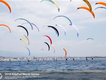 Kitefoil World Series - day 2