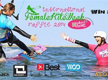 Big Online Raffle - Support Female Kiteboarding and win! - Kitesurfing News