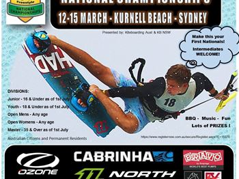 4 Days of wind for Freestyle Kiteboarding Nationals - Kitesurfing News