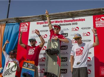 Liam Whaley steals win from Zoon and Hadlow in the VKWC - Kitesurfing News