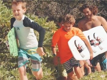 Call in the babysitter - Jesse Richman knows how it's done! - Kitesurfing News
